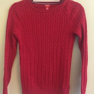 IZOD Women's Cable Knit Sweater